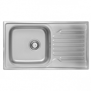ULA 7204 ZS Satin Кухонная мойка, ULA7204SAT08
