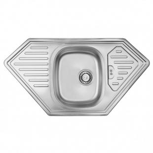 ULA 7801 ZS Satin Кухонная мойка, ULA7801SAT08