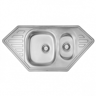 ULA 7802 ZS Satin Кухонная мойка, ULA7802SAT08