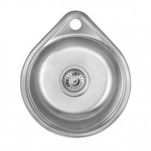 Кухонная мойка Imperial 4539 Decor круглая, IMP4539DEC