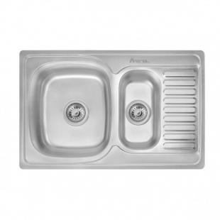 Кухонная мойка Imperial 7850 Satin прямоугольная, IMP7850SATD
