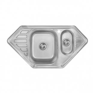 Кухонная мойка Imperial 9550 Decor трапециевидная, IMP9550СDECD
