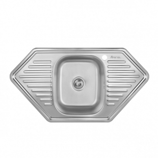 Кухонная мойка Imperial 9550 Satin трапециевидная, IMP9550DSAT