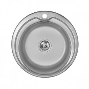 Кухонная мойка Imperial 5151 Decor круглая, IMP510DDEC
