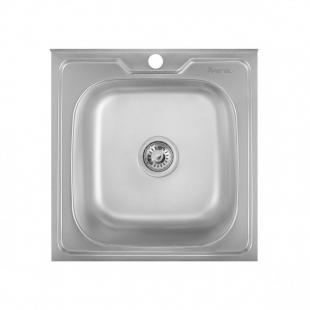 Кухонная мойка Imperial 5050 Decor квадратная, IMP505006DEC