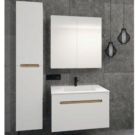 Зеркальный шкафчик Radaway Laura 80 (M41080-01-01) белый/глянец