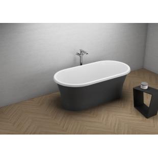 Ванна акриловая отдельностоящая Polimat AMONA NEW 150x75 00335