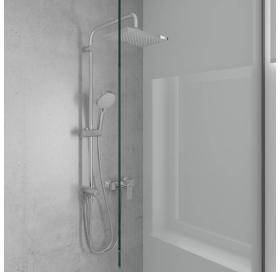 Душевая система Hansgrohe Vernis Shape Showerpipe 230 1jet Reno 26282000 хром