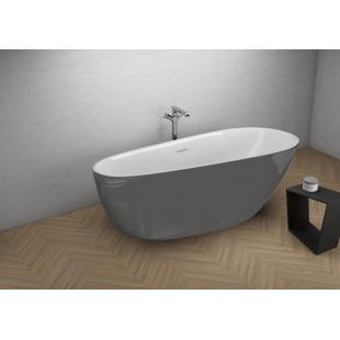 Ванна акриловая отдельностоящая Polimat SHILA 170x85 00432