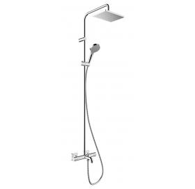 Душевая система Hansgrohe Vernis Shape Showerpipe 230 1jet с термостатом для ван..