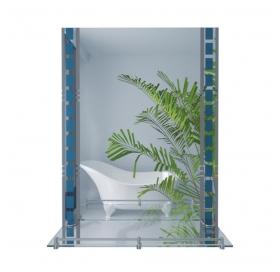 Зеркало Lidz с полкой 500х700х105 (LD55781400706W)