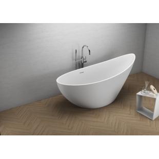 Ванна акриловая отдельностоящая Polimat ZOE 180x80 00256