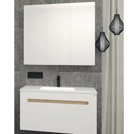 Зеркальный шкафчик Radaway Laura 100 (M41100-01-01) белый/глянец
