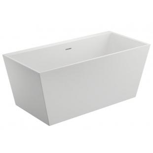 Ванна акриловая отдельностоящая Polimat LEA белая 170x80 00251