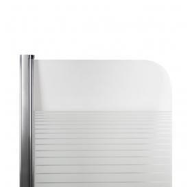 Штора на ванну Lidz Brama SS80x150L.CRM.L Linie (LBSS80150LCRML)