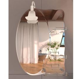 Зеркало со светильником Lidz с 3-мя полками 480х675х100 (LD55781400705W)