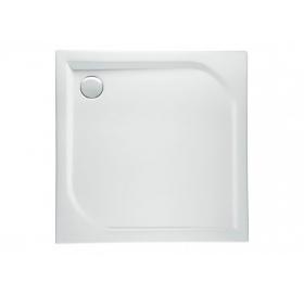 Поддон квадратный Polimat ARES 100x100x5,5 00597