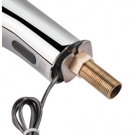 Смеситель для умывальника сенсорный Lidz (CRM) (LIDZCRM900007800)
