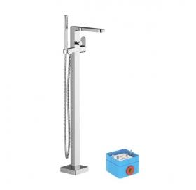 Напольный смеситель для отдельностоящей ванны Ravak CHROME, X070101