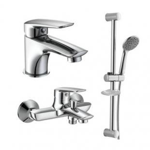Комплект смесителей для ванны/душа Imprese Praha new, 0510030670