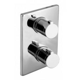 Термостат для душа Imprese Centrum, скрытый монтаж, на 3 потребителя, VRB-10400Z