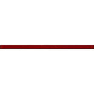 Фриз стекло Opoczno Nizza красный 2x45