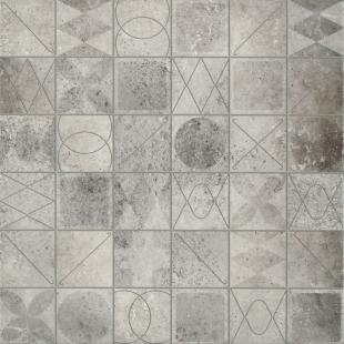 Плитка напольная Грес Bristol Gray Mosaic 420x420 мм (OP183-003-1)
