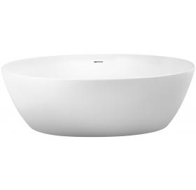 Ванна Volle 12-22 170x82 отдельно стоящая, белая матовая + сифон 12-22-810М